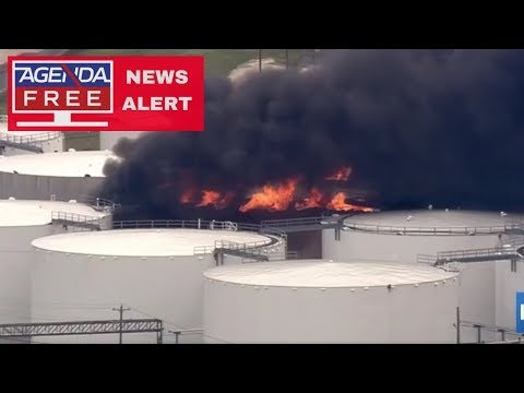 Chemical Tank Fire in Deer Park, TX - LIVE COVERAGE