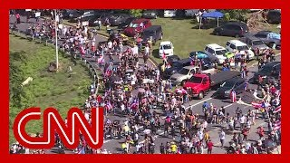 Massive protests shut down highway in Puerto Rico thumbnail