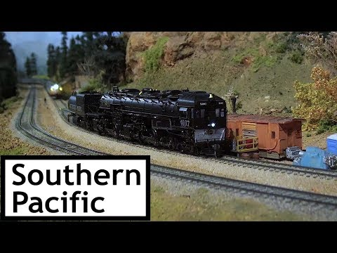 Southern Pacific at the Colorado Model Railroad Museum Part 1 of 3