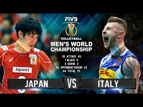 Italy vs. Japan | Highlights | Mens World Championship 2018