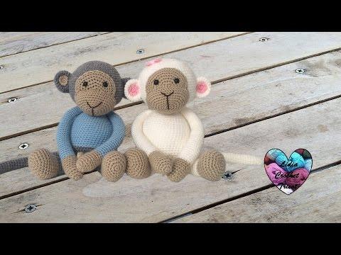 Amigurumi monkeys (english subtitles) 1/2