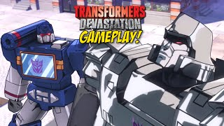 THIS F#%KING GAME IS FIRE!! [TRANSFORMERS: DEVASTATION] [GAMEPLAY]