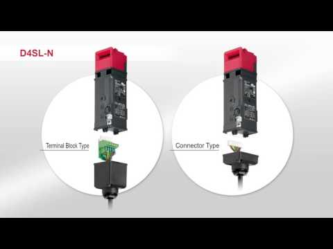 Reduce setup time with Omron D4SL-N Guard Lock Safety-door Switch