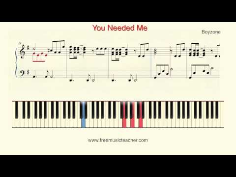 How To Play Piano: Boyzone