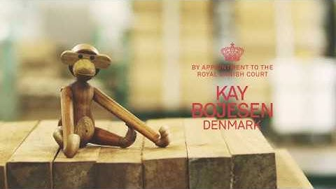 How it's made: Kay Bojesen's Wooden Monkey | FinnishDesignShop.com