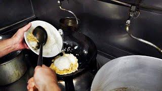 How to make Fried Rice - Japanese Street Food