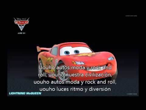 autos moda y rock and roll con letra-moderato-cars 2