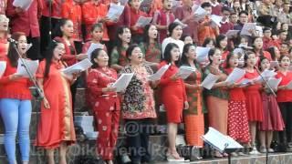 Natal Oikumene 2016 Lagu Dayak Kanayat'n - Jubata