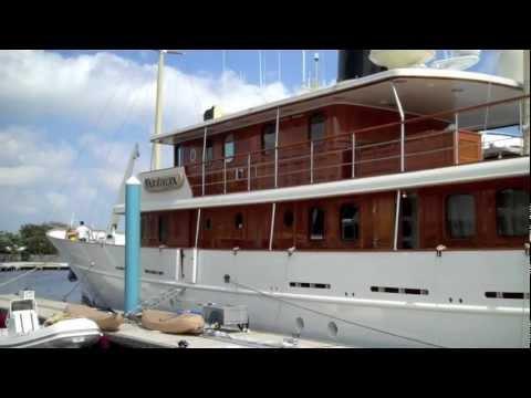 Johnny Depp's Mega Yacht