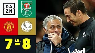 Frank Lampard schlägt Jose Mourinho: Manchester United - Derby County 7:8 i.E. | Carabao Cup | DAZN