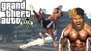 Grand Theft Auto V: Hardest Knockouts (K.Os) #7 (MMA Skills, Punches, Brutal Kills, funny Deaths)