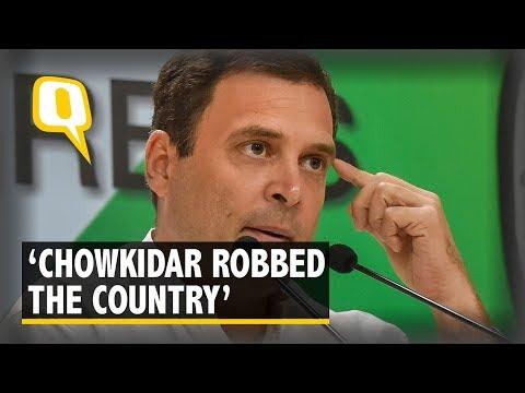 """Chowkidar Chor Hai"": Rahul Tears Into Modi After Hollande's Controversial Rafale Interview"