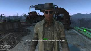 Fallout 4 playthrough pt87 - Railroad Missions Begin! Back Door Into Synth Territory