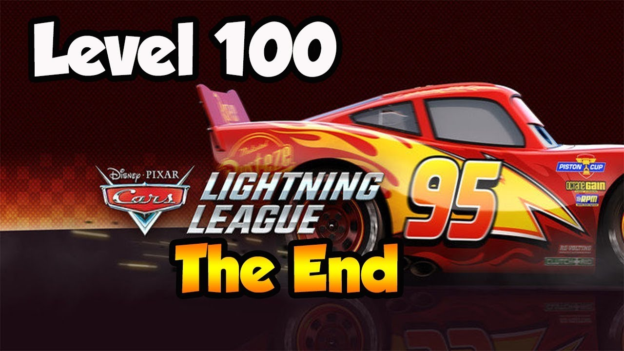 Disney Cars 3 Lightning League The End 100 Level Play