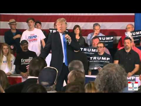 Live Donald J. Trump Town Hall Full Speech in Janesville, WI (3-29-16) Janesville Wisconsin Rally