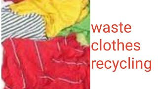 waste dupattas in home/recycling ideas