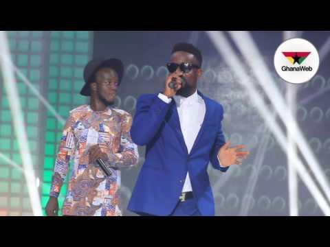 Akwaboah and Sarkodie's performance at 'Rhythms On Da Runway'