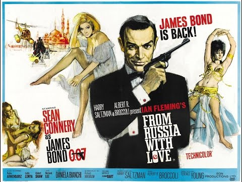 1963 - James Bond - From Russia with love: title sequence