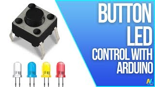 Push Button and LED control with the Arduino