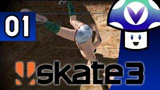 [vinesauce] Vinny - Skate 3 (part 1) + Art!