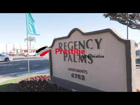 Prestige Paint And Decorative - Regency Palms Apartments