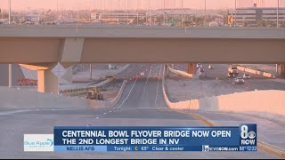 Centennial Bowl flyover bridge opens for traffic