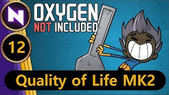 Oxygen Not Included - Quality of Life #12 STEAM GEYSER