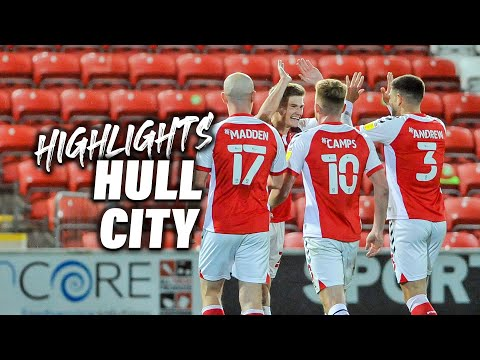 Fleetwood Town Hull Goals And Highlights