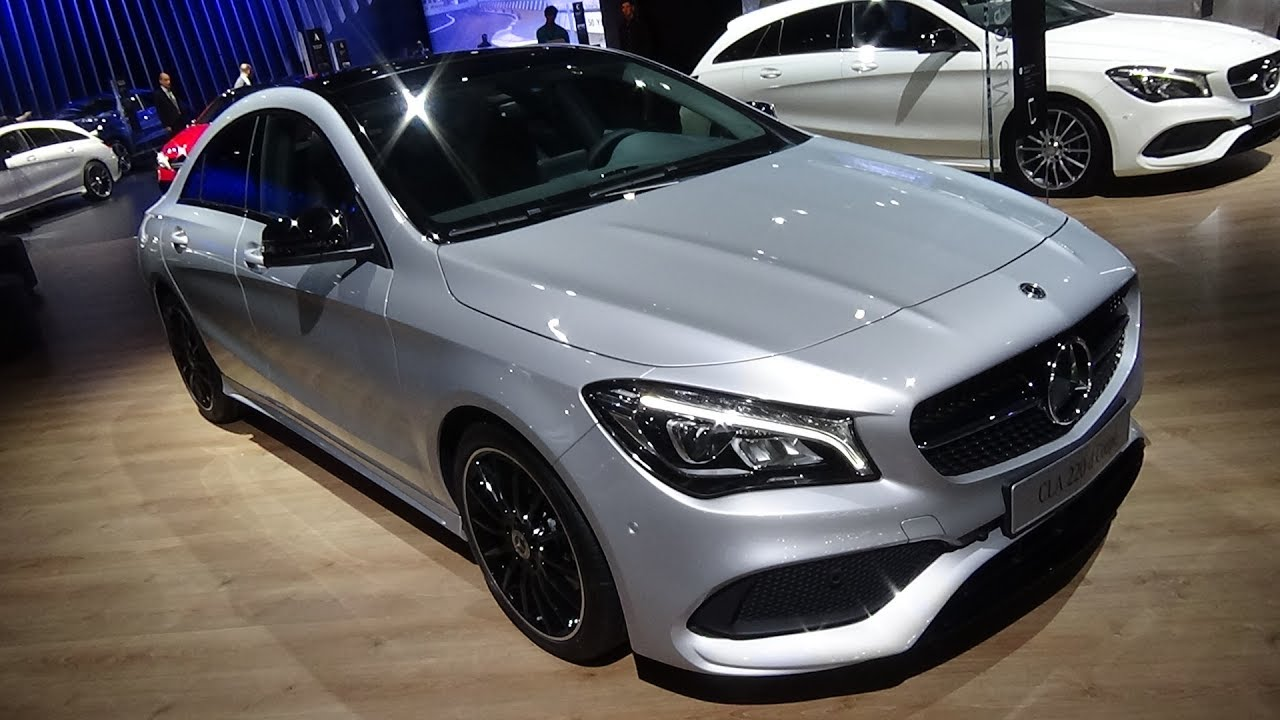 2017 Mercedes Benz CLA 220d Coupé   Exterior And Interior   Automobile  Barcelona 2017