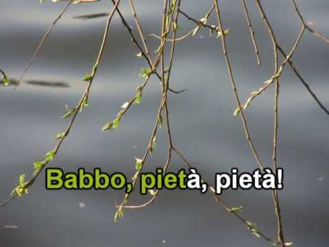 """Puccini """"O Mio Babbino Karo..."""" - KARAOKE"""