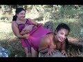 Amazing Fishing at Battambang   Beautiful Girl Fishing   How To Catch Fish By Hand Part32