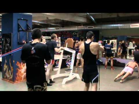 Moscow Kaewsamrit Gym силовая тренировка на выносливость