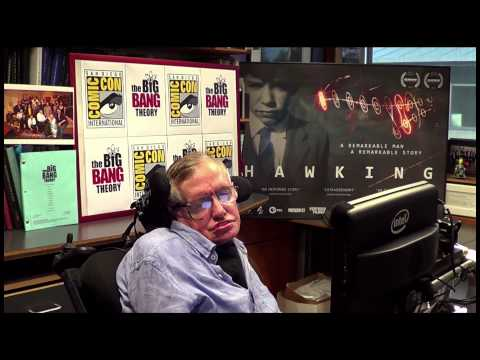 Stephen Hawking Introduces THE BIG BANG THEORY Panel at ...