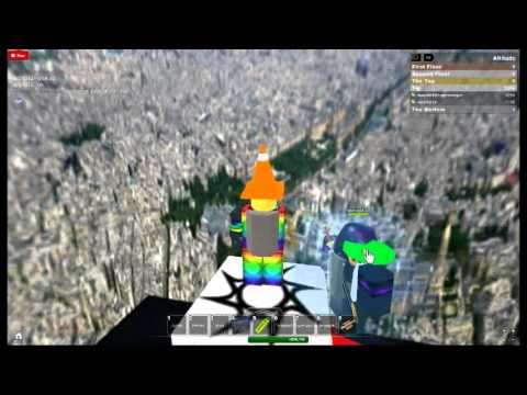 climbing the Eiffel tower roblox