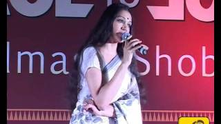 Face to Face With Actress and Dancer Shobana at G R D College - Nikhils Channel