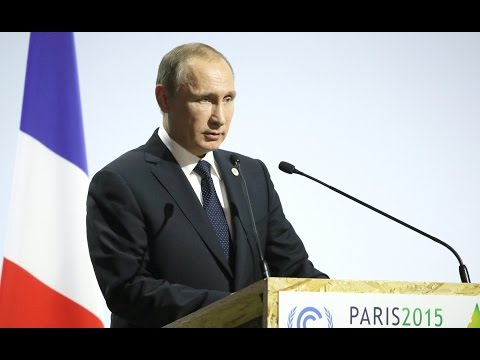 Vladimir Putin. Conference of the Parties to the UN Framework Convention on Climate Change