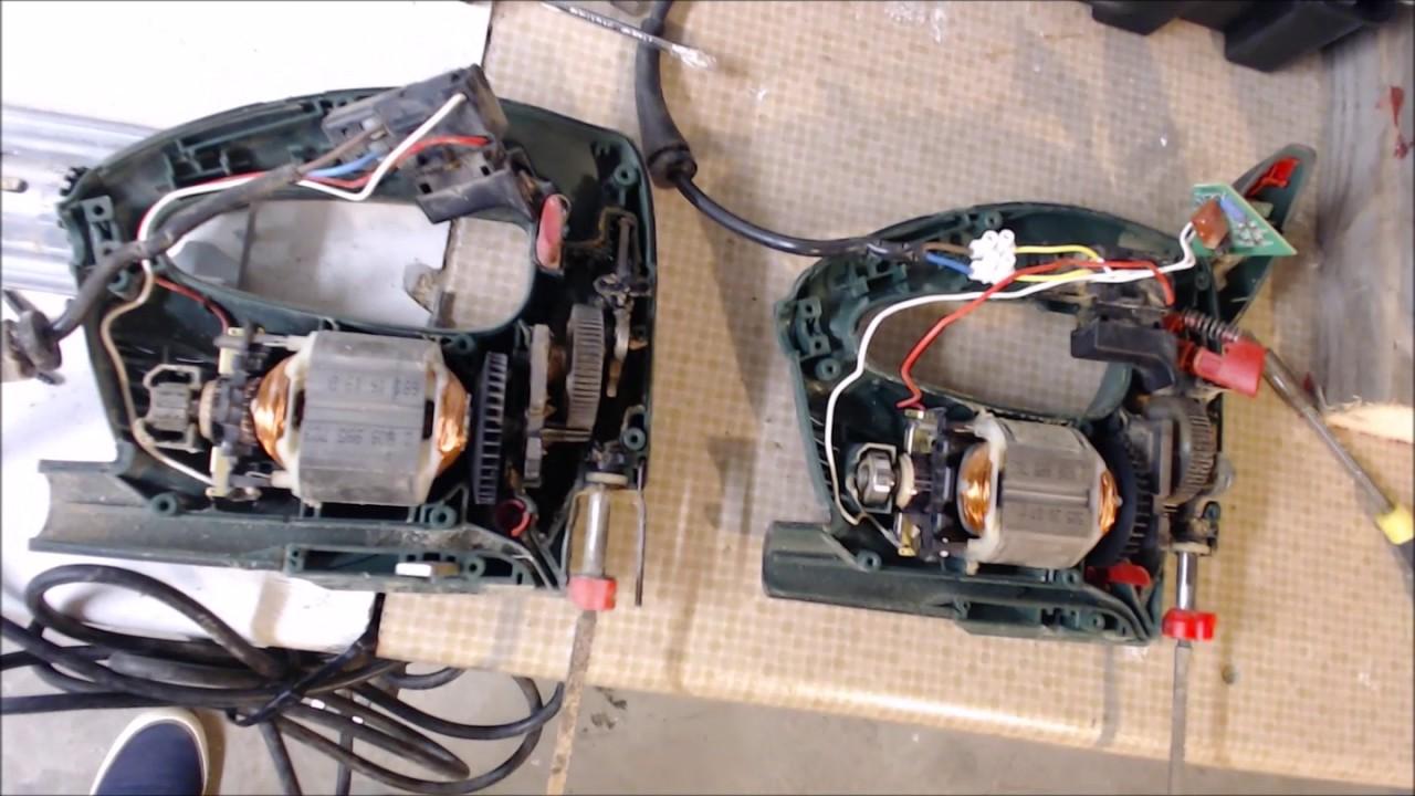 Beroemd Repair a Bosch pst 650 jigsaw - YouTube XC38