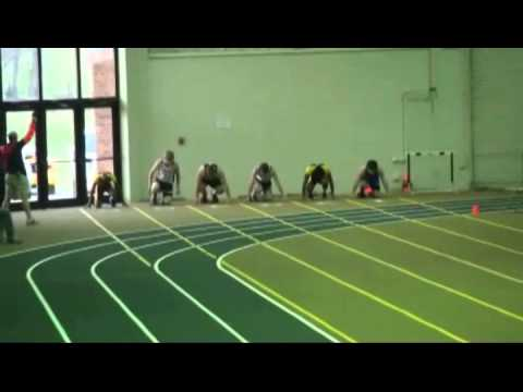 Terry Baker Invitational Scrimmage Boys 55 Dash.wmv