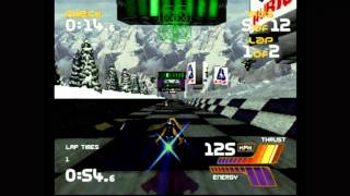 Classic Game Room - WIPEOUT 2097 for Sega Saturn review