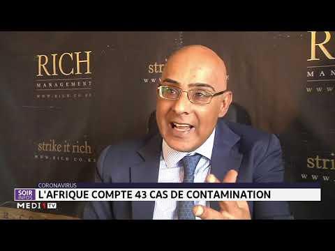Coronavirus: l´Afrique compte 43 cas de contamination