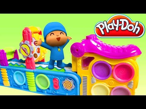Thumbnail: Pocoyo Play Doh Fun Factory Play Doh Mega Fun Factory Machine Play Doh Pocoyo Покојо