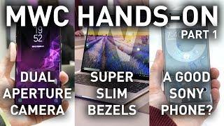 Cool Stuff at MWC: Matebook X Pro, Galaxy S9, Xperia XZ2 + More