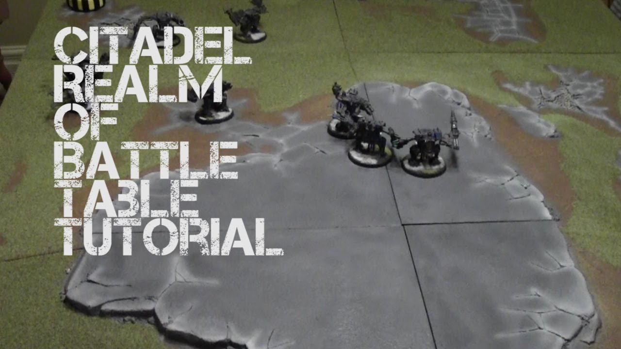 Citadel Realm Of Battle Table Painting Tutorial   YouTube