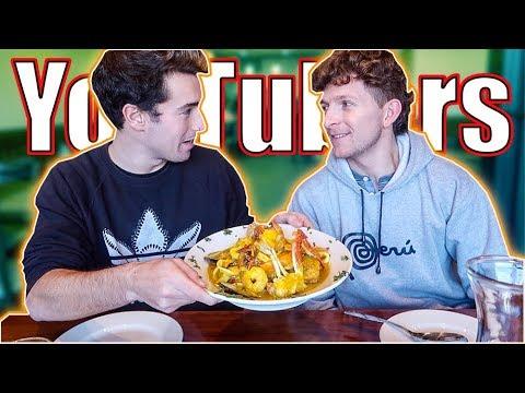 YouTubers probando Comida Peruana | Gr3ngasho (Nuestro amor por Perú)