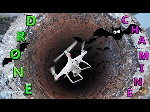 DRONE entra DENTRO da CHAMINE wanzam fpv