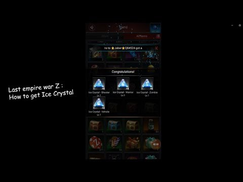 Last Empire War Z : How To Get Ice Crystal