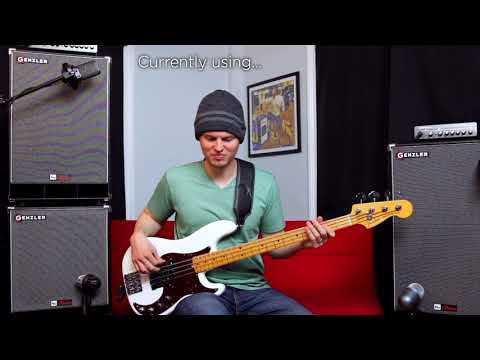 Genzler Amplification - NU Classic New Classic Bass Cabinets Review - Nate Navarro