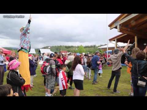 Canada Day Bhangra in Whitehorse, Yukon Territory, Canada