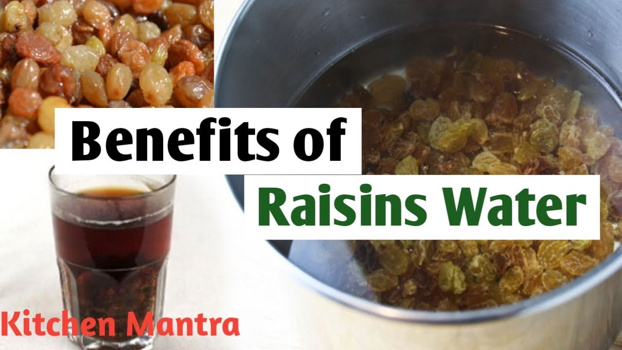 How to prepare raisins water in hindi - YouTube
