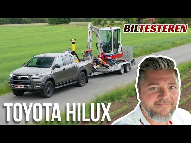 Toyota Hilux imponerer med 3.500 kg på krogen (test)